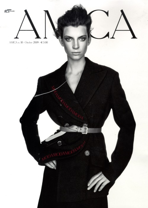 COVER AMICA OCTOBER 2009